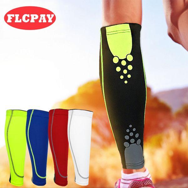 1 pair base layer compression leg sleeve shin guard men women cycling running outdoor football sports calf support thumbnail