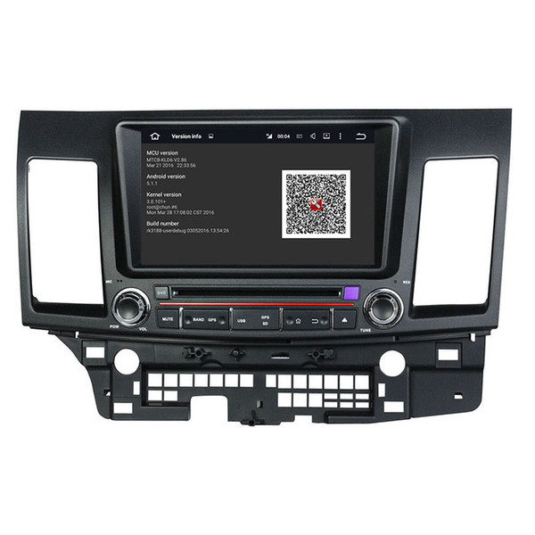 Car DVD player for MITSUBISHI Lancer 2006-2012 8Inch Octa-core 2GB RAM Andriod 6.0 with GPS,Bluetooth, Radio