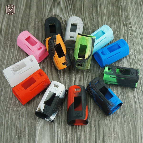 Caso / manicotto / baia elettronici del silicone mod della scatola RX GEN 3 della sigaretta elettronica con 13 colori all'ingrosso da DHL che spedicono liberamente