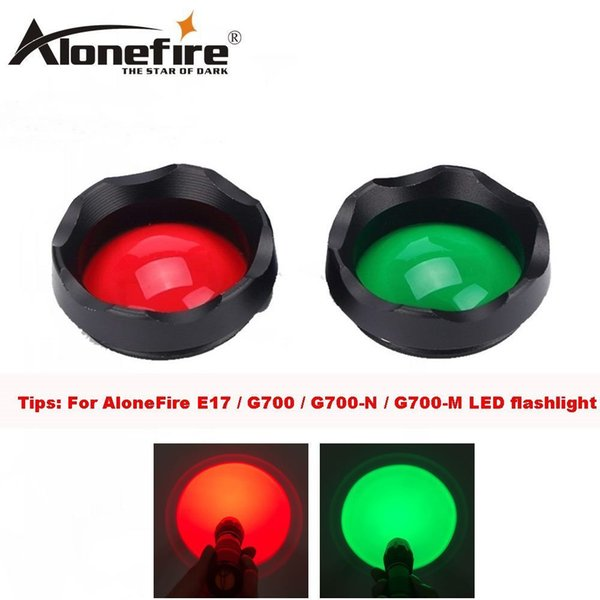 red green lens
