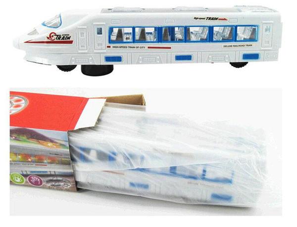 DHL Luz eléctrica música Tren Tren Tren de alta velocidad Batería de juguetes Trenes Modelo Grandes niños Juguetes de Navidad Regalos para niños Amigos