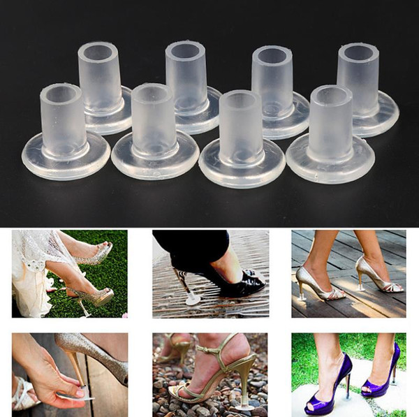 High Heel Protector Eco-friendly Lightweight For Wedding Favor Wear-resistant Non-Slip High Heel Cover