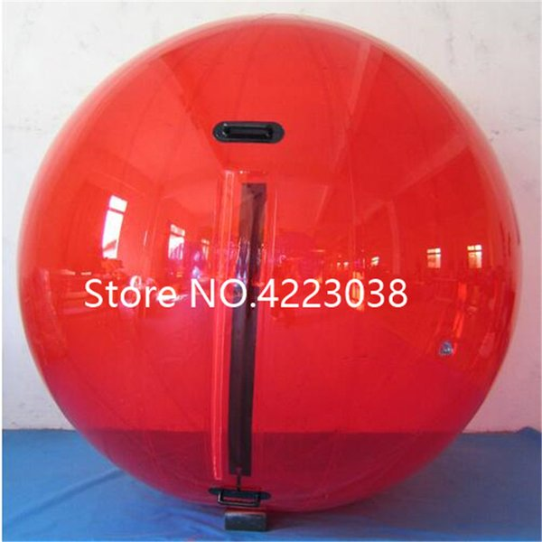 Free Shipping 0.8mm PVC Water Zorb Ball Dancing Ball Diameter 2m Inflatable Water Walking Ball Human Hamster Balls For Sale