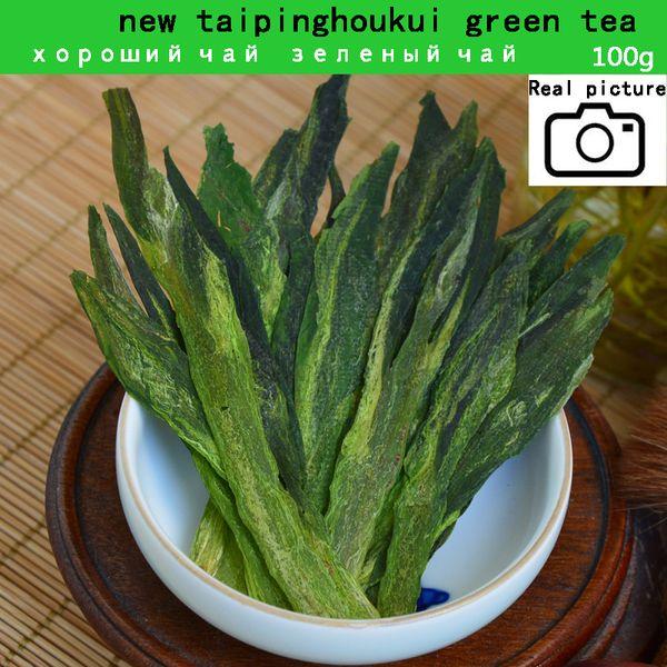 best selling mcgretea 2020 good tea 100g Top grade Chinese green Tea Taiping Houkui new fresh organic naturally matcha health care hot