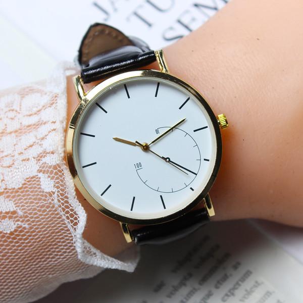 Fashion Couple Watches Popular Casual Quartz Women Men Watch Minimalism Lover's Gift Clock Boys Girls Clock Relogio Masculino