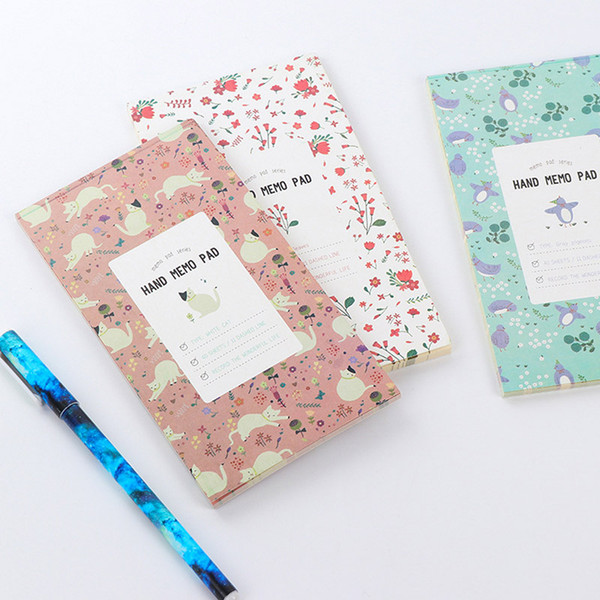 Wholesale- Cute Kawaii Flower Notebook Notepad Diary With Lined Paper For Kids Gift Office School Supplies Free Shipping 2426