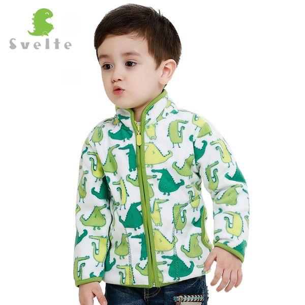 Svelte Brand 2017 Spring Autumn Winter Kids Fur Coats Warm Boys Jackets fashion Thick Fleece Outerwear Enfant Clothes