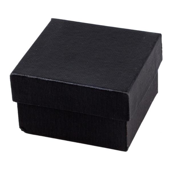 Scatole regalo scatole regalo all'ingrosso per orecchini anello orologio da polso scatola nera