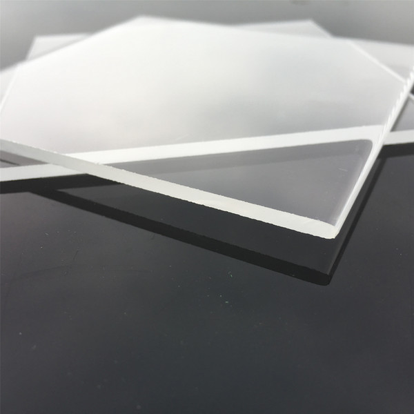 top popular Factory Supply High Quality Industrial Quartz Plate 105mm Square 3mm Thick Glass Piezoid Sheet for Many Uses 2021