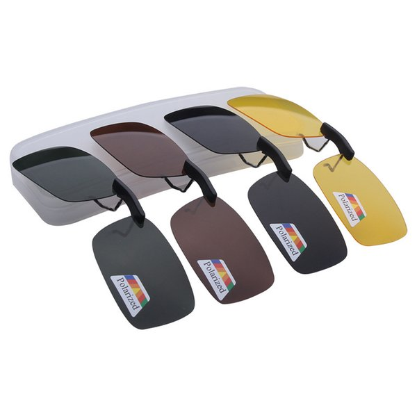 News Style Polarized Clip on fishing Glasses Traveling Night Vision Easy Flip Up Sun glass Oculos