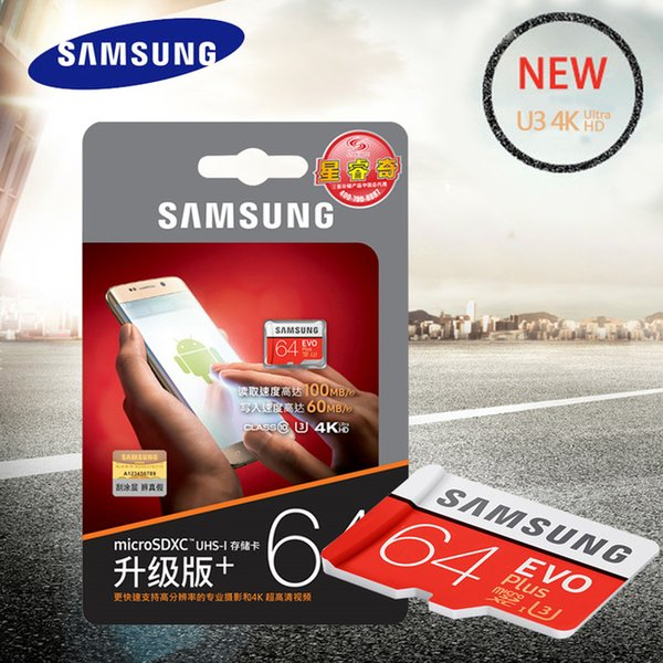 2019 Genuine Samsung Memory Card Microsdxc 64gb Class10 Sdxc Uhs I Tf Cards Trans Microsd Cartao De Memoria Tarjeta Evo Plus Card For Dash Camera From