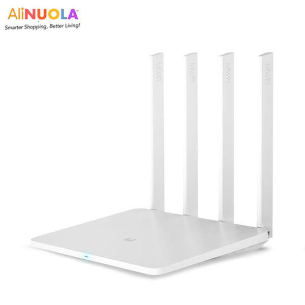 Оригинал Xiaomi маршрутизатор 3G WiFi 2.4 G / 5G 1167Mbps 128 Мбит большой Флэш-конфигурации / поддерживает до 126 интернет-устройств удаленного подключения