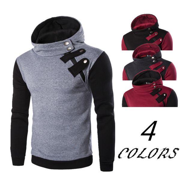Cheap Fashion New Men Autumn Winter Hooded Sweatshirts Men's Pullover Hoodie Designer Male Hip Hop Hoodies Sport Suit Plus Size