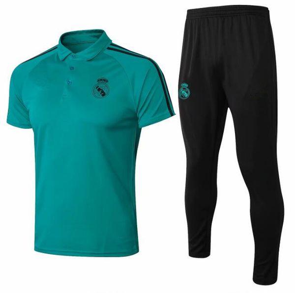 Best quality 2018 Soccer Jersey Real Madrid MODRIC LUCAS V MORATA BALE KROOS ISCO BENZEMA football Uniforms Shirt Long Pants set