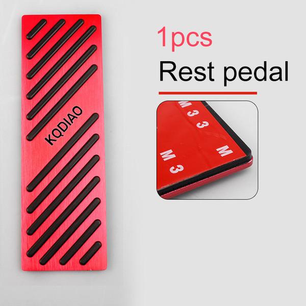 Renk adı: dinlenme pedalı kırmızı