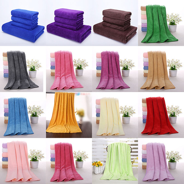 Cleaning Cloths Fast Drying Water Uptake Auto Clean Towels Superfine Fiber Kitchen Cleanliness Beauty Salon Towels 30*70cm HH7-799
