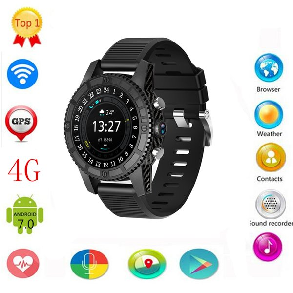 For Gear s3 Smart Watch Android 7.0 Watch Phone 4G LTE Network 1GB+16GB with 2.0 Camera Power Bank Charger Smartwatch