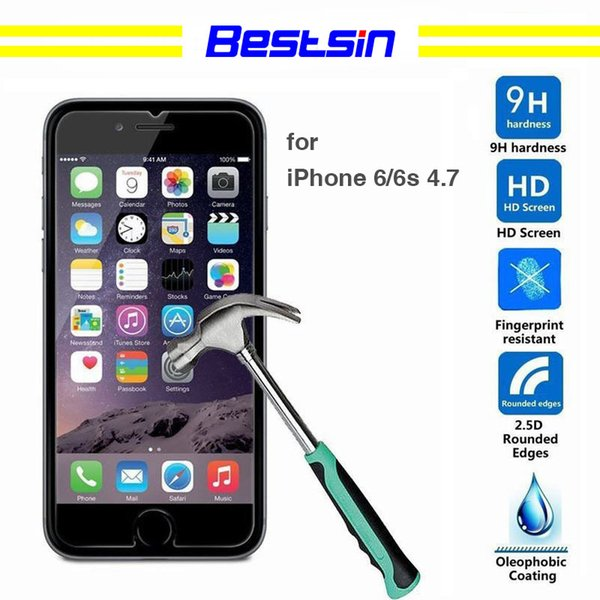 Bestsin For iphone6 6P 7 7P 8 8P x mobile phone toughened membrane, high quality, high quality cell Transparent toughened film