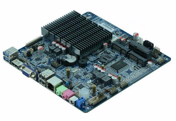 ITX-M50 VER:1.5 Fanless AIO motherboard intel J1900 Bay Trail quad core Mini Itx Motherboard wifi /3g /2*RS232 1000M LAN