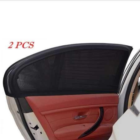 2pcs Auto Seitenfenster Mesh Sonnenblende Schatten Abdeckung Schild UV Schutz