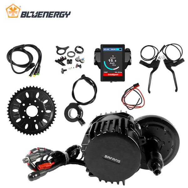 8fun Bafang BBS03 BBSHD 48V 1000 W 120mm 46T Bicicleta Eletrica Kit Motore Mid Drive per Ebike con display C961 C965 850C DPC18