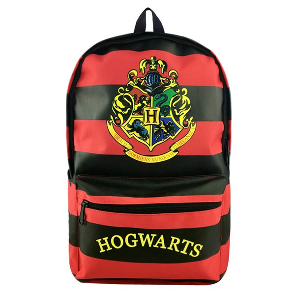 New Anime Harry Potter High Quality Suicide Squad Canvas Solid Color Laptop Backpack Kingdom Hearts Double-Shoulder School Bag