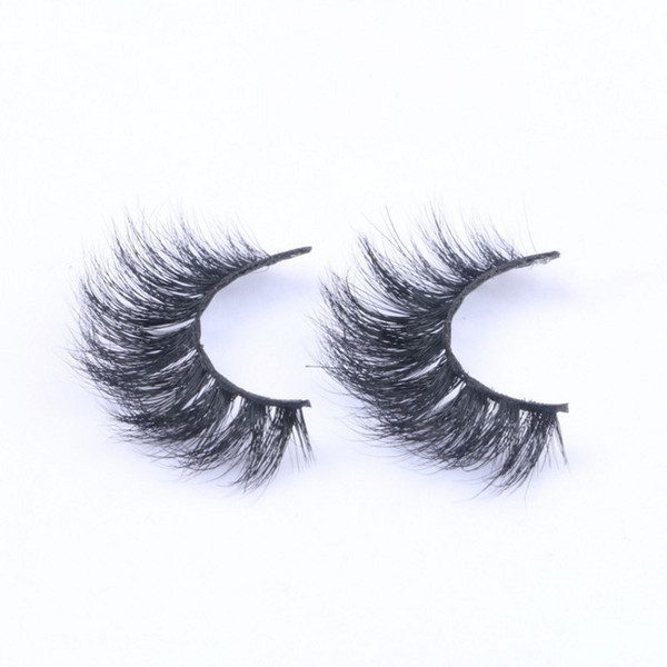3D Mink False Eyelashes 100% Handmade Mink hair lashes Natural Long Thick Comfortable Soft Full Strip Lashes
