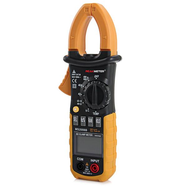 Freeshipping Digital Profissional AC Clamp Meter com Backlight Multímetro Tester Multimetro Eletrônico 4000 Contagens