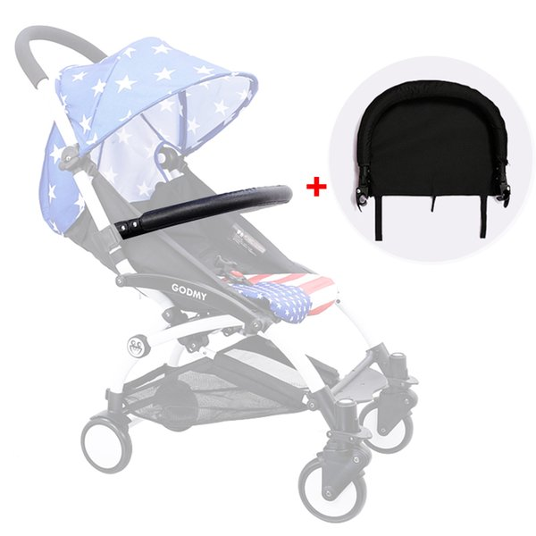 Baby Stroller Foot Rest and Armrest for Babyzen Babytime Stroller Infant Baby Carriages Feet Extension Accessories