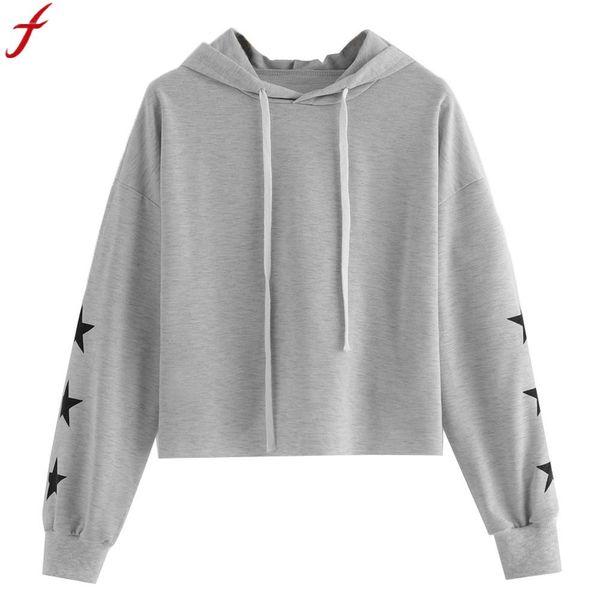 2020 New Harajuku Women Hoodies Sweatshirts 2018 Womens Long Sleeve Hooded Pullover Drawstring Tracksuit For Women Sudaderas Mujer From Deborahao,
