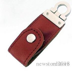 Новый бренд 2 ГБ кожа USB Flash 64 ГБ Pen Drive Pendrive флэш-накопитель карты памяти Stick Drive 3 цвета 104