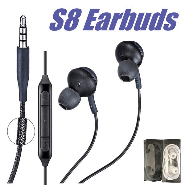 Pour Samsung Galaxy S8 S8 Plus S7 Edge Écouteurs Casques In-Ear Écouteurs IG955 3.5mm Écouteur Casque avec Micro Fil Contrôle Du Volume