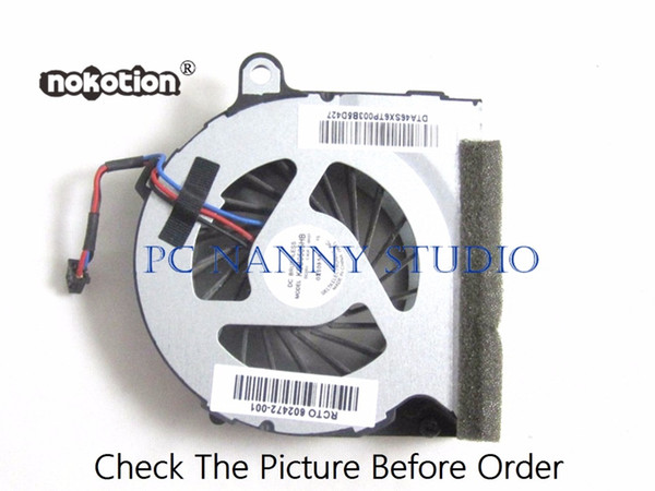 NOKOTION FOR 4421S 4321S 4326S 4420S 4426S 602472-001 Cooling Fan Cpu Cooler WORKING