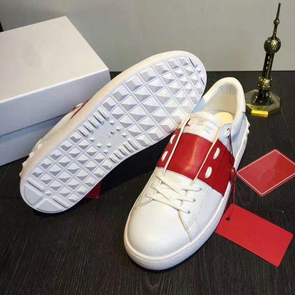 New Trendy Lady Comfort Casual Dress Shoe Sport Sneaker Mens Casual Leather Shoes Luxury Designers Womens Garavanis Open Lowtop Sneakers