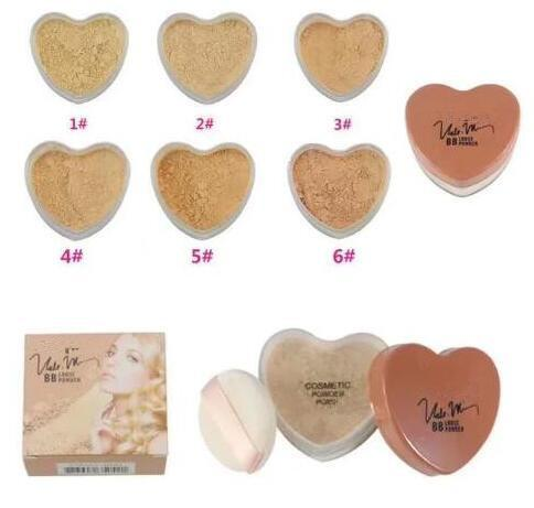 6pcs FREE SHIPPING hot sell good quality Lowest Best-Selling good sale New Brand Makeup Face Powder
