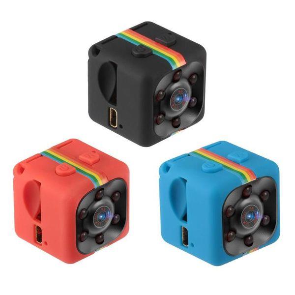 SQ11 Full HD 1080 P Gece Görüş Kamera Taşınabilir Mini Mikro Spor Kameralar Video Kaydedici Kam DV Kamera (TF kart dahil değildir)