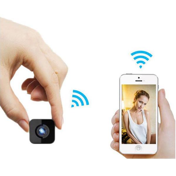 HDQ13 Wi-fi Sem Fio Inteligente Mini Câmera Filmadora 1080 P HD IR Night Vision Grande Angular Esportes Ação DV DVR Telefone Reprodução Remota