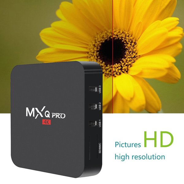 top popular MXQ Pro Amlogic S905W Android 7.1 Smart TV Box 2.4G WiFi Better Than X96 TX3 2020