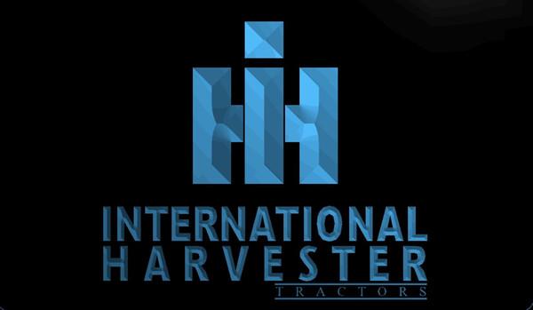 LS516 International Harvester Tractor LED Neon Light Sign Decor Envío gratis Dropshipping Wholesale 8 colores para elegir
