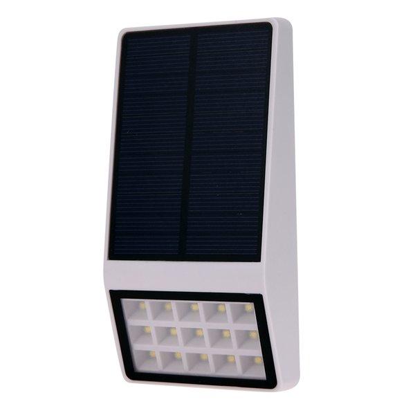High Brightness Solar Powered 15 LED Solar Light Waterproof Outdoor Fence Garden Street Light Emergency Lamp