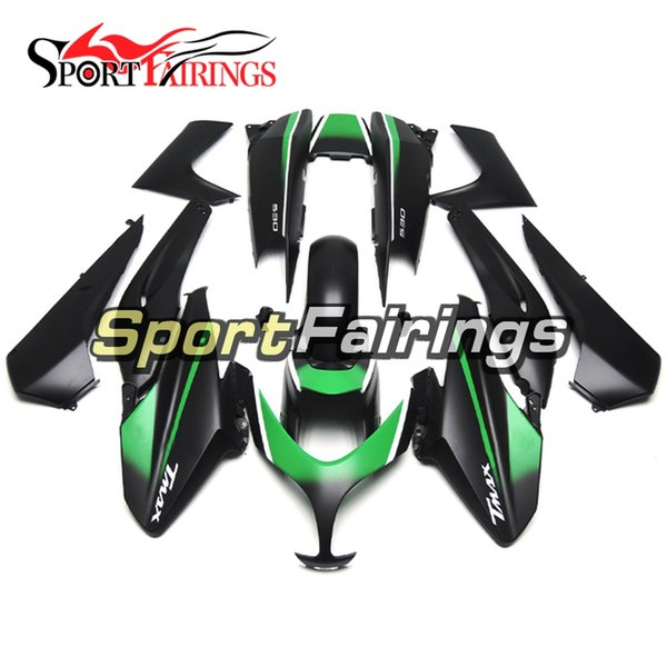 Flat Black Green Full Fairing Kit For Yamaha XP500 TMAX 500 T-MAX 08 09 10 11 2008 - 2011 ABS Plastic Injection Motorcycle Body Kit New HULL