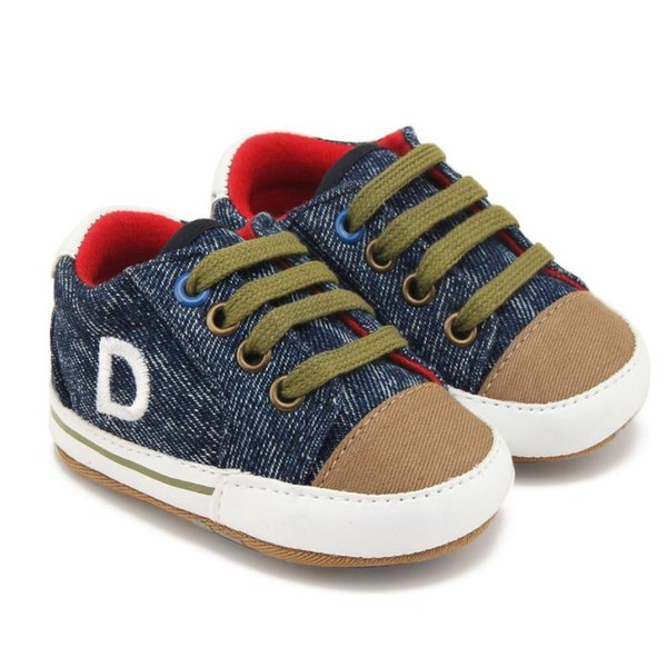 TELOTUNY 2018 baby shoes Boy Girls Toddler toddler shoes Canvas Footwear lace-up Casual Sneakers First Walkers UK A6