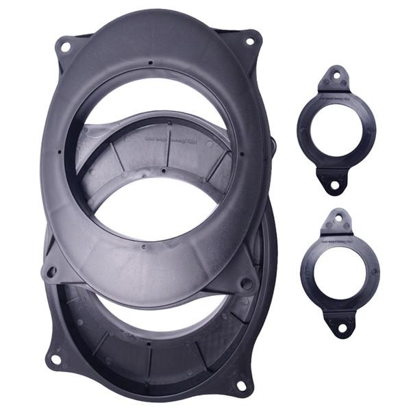 2pcs/Set Car Stereo Audio Rear Speaker Spacer Adapter Hold Refitting Mat For Toyota Camry Highlander #4703