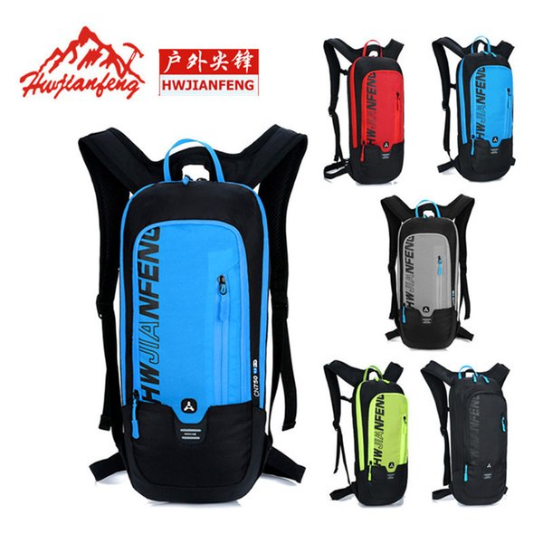 Bike Bicycle Bags Waterproof Back Breathable Outdoor Sports Riding Racing Backpack Bike Accessories 5Colors Cycling Backpack Bag