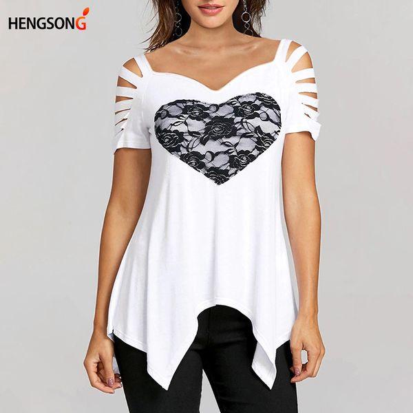 Compre Nuevas Camisetas De Verano Para Mujer Camiseta De Manga Corta ...