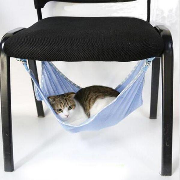 Remarkable 2019 Cats Hammock Summer Portable Cats Pets Under Chair Breathable Air Mesh Hammock Multifunction Cats Beds 53 38Cm From Crazyfairyland 3 25 Customarchery Wood Chair Design Ideas Customarcherynet