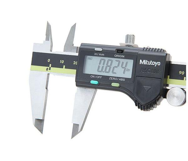 top popular Digital vernier calipers mitutoyo Digital Caliper Testers 0-150 0-200 0-300 0.01mm Digimatic calipers Free Shipping 2021