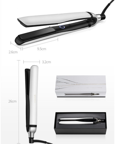 9hd platinum Professional hair straightener Black white 2color EU/UK plug with retail box DHL fast ship IN stock