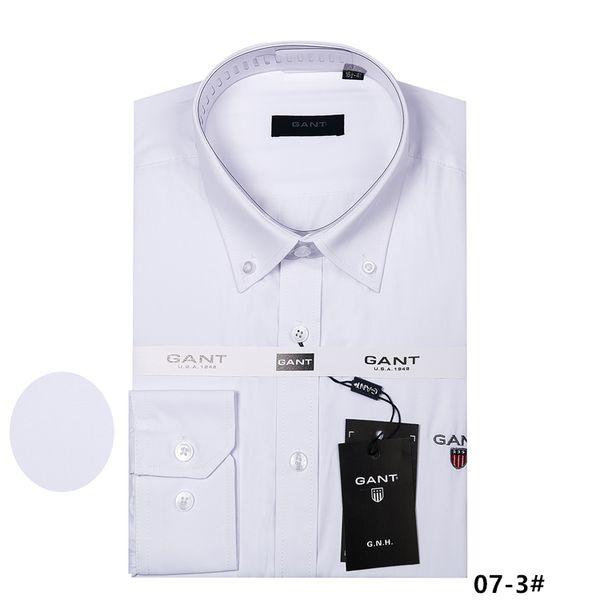 best selling 2018 new men's long-sleeved high 100% cotton shirt good quality men's casual 9ant fashion shirt social brand men shirt M to 4XL