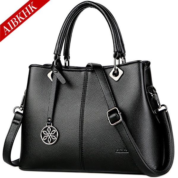 Luxury Designer Handbags Famous Brand Top-handle Bag Shoulder Crossbody Bags for Women 2018 Fashion Leather Tote Ladies Hand Bag